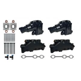 Mercruiser manifold V6 4,3 liter - dry joint