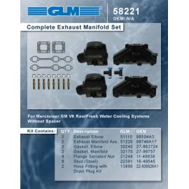 """Mercruiser komplet V6 SB 3"""" knæ"""